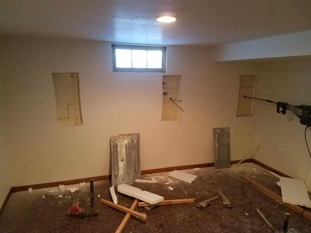 Foundation repair in Appleton, WI