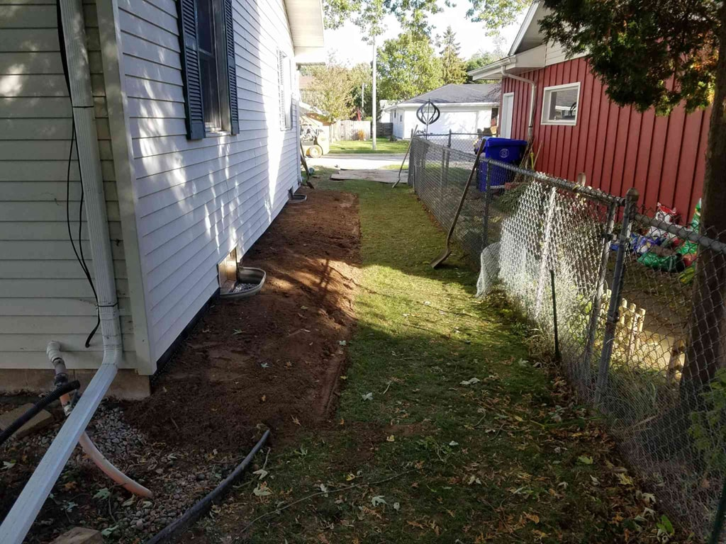 Foundation Repair - Anchor System in Appleton, Wisconsin