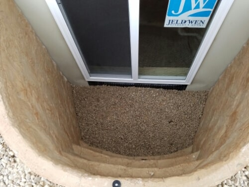 Egress window installation in Menasha, WI